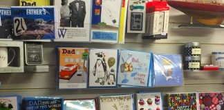 Fathers Day display