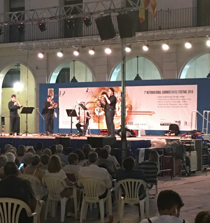 International brass festival Alicante