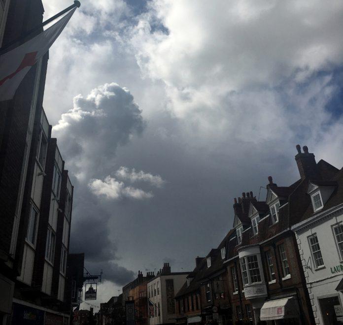 Stormy High Street