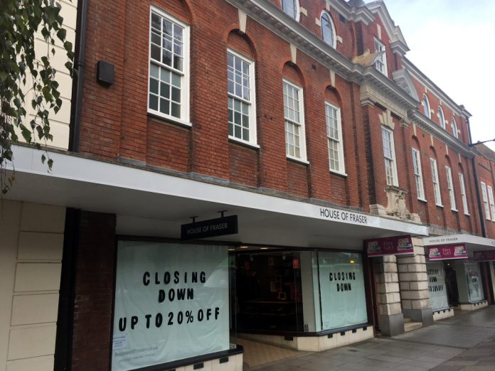 Army & Navy, House of Fraser Chichester