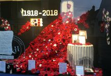Armistice Day Window Closs & Hamblin, Chichester