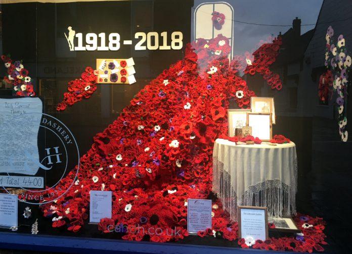 Armistice Day Window Closs & Hamblin, Chichester