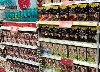 hair dyes in pharmacy