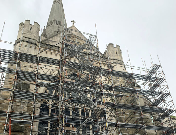 Chichester Cathedral Roof Project