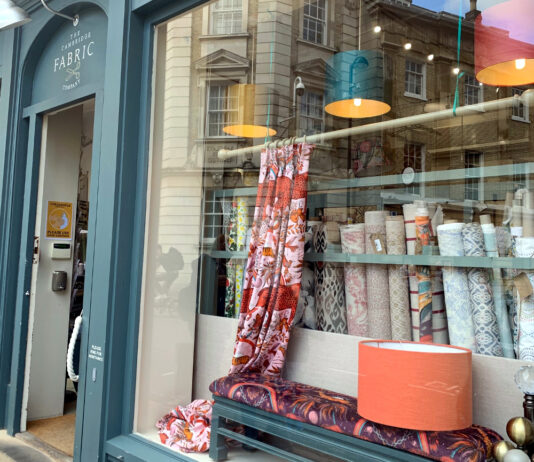 Support the high street : Cambridge Fabric Company