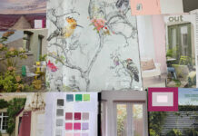 Garden Studio sample board by Create Display