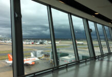 Stormy Skies Ahead View Over Apron by A Howse