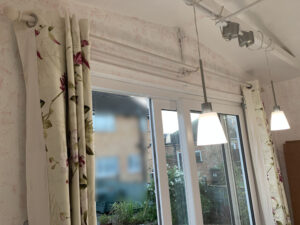 Garden Studio Curtains on B and Q Pole System