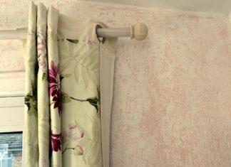 Garden Studio Curtain (detail top)
