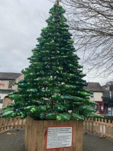 Tracey Graham recycled Xmas tree