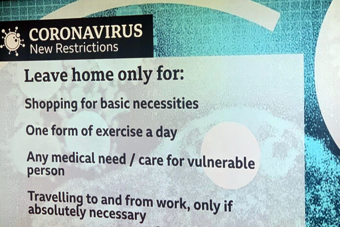 England's 3rd lockdown governement restrictions