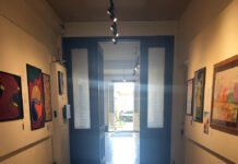 Light through corridor St Helier Jersey Art Museum photo by A Howse