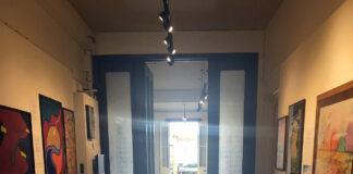 Light through corridor St Helier Jersey Art Museum photo by A Howse