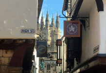 Canterbury High Street< Kent before Covid-19