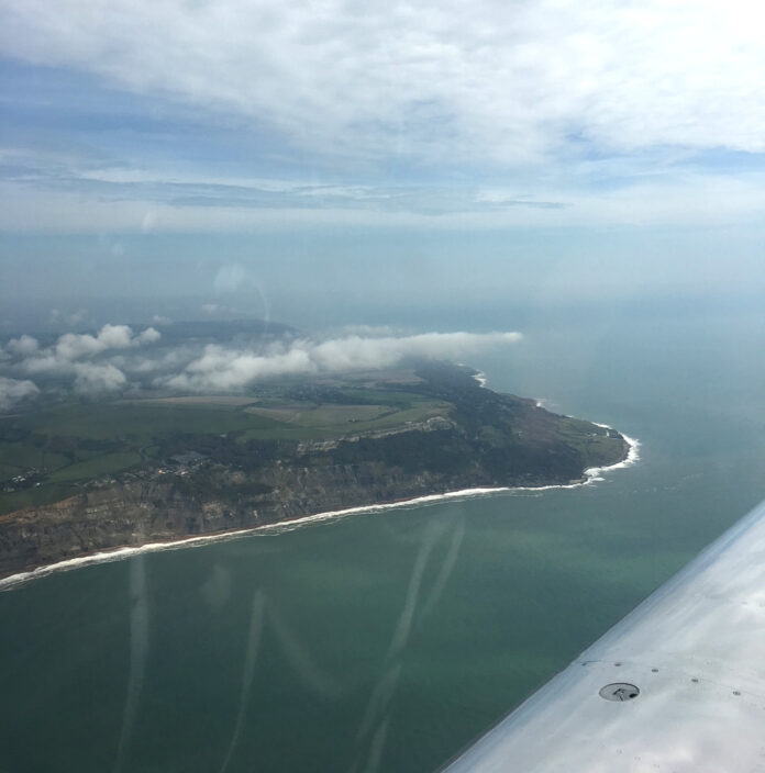 Isle of Wight coastline photo by A Howse