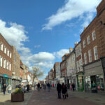 Chichester in Sussex reopens non-essential shops
