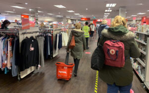 T K Maxx shoppers rush to reopening