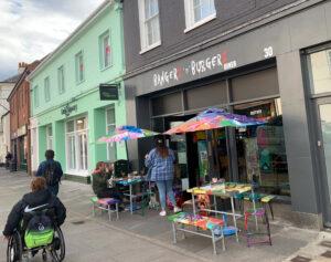 Bangerz and Burgerz new restaurant in Chichester