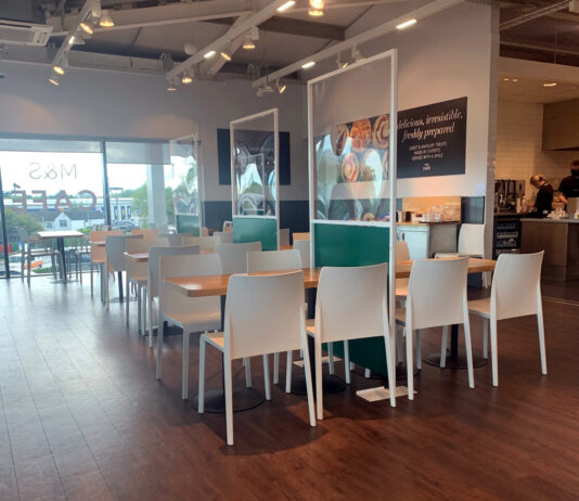 Indoor cafes open again: Marks and Spencer, Hampshire