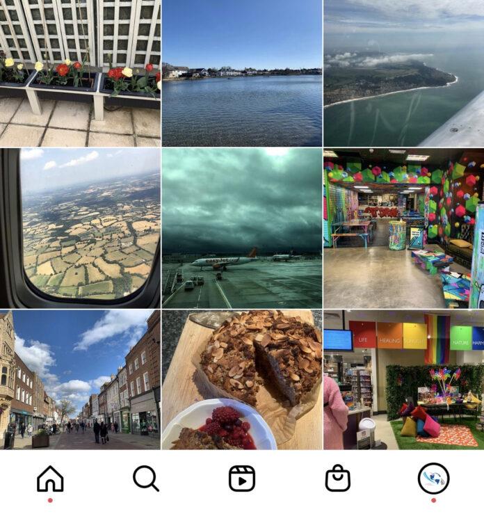 HotEnough.com instagram account screenshot