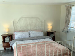 Stylish Bedroom ready for professional lady lodger
