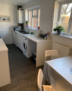 Interior kitchen suitable for lodgers